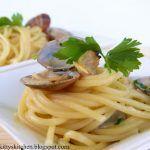Spaghetti colatura di alici di Cetara e vongole
