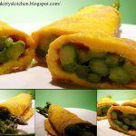 Omelette di asparagi ed erbe di Provenza