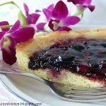 Crostata ai frutti di bosco con zenzero fresco e auguri…