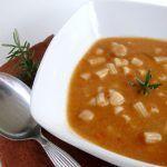 Romanità a tavola: Pasta e ceci al rosmarino