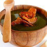La cucina naturale: Crema di piselli al rosmarino con chips di carota