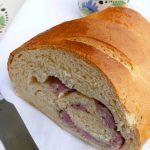 Buttermilk bread con salsiccia e anice