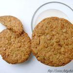Biscotti farina di enkir e fiocchi d'avena