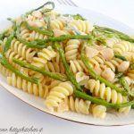 Fusilli asparagi selvatici, gorgonzola e noci macadamia