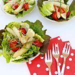 Insalata di asparagi bianchi e fragole al balsamico