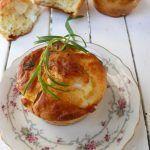 Muffin alla feta, maionese ed erbette