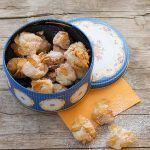 Biscotti al mandarino e fiocchi di mais (gluten free)