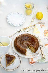 Torta polenta e limone