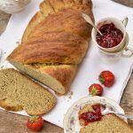 Pan brioche con grano saraceno all'olio d'oliva
