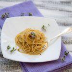 Pasta risottata con zafferano e fiori di origano