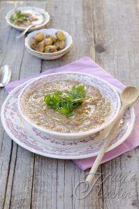 Zuppa alle castagne e sedano rapa