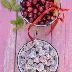 Cranberries brinati alla cannella