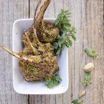 Agnello in crosta di pistacchio