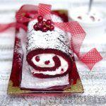 Red Velvet Christmas Roll