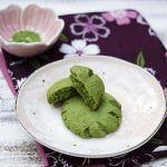 Cookie al tè verde matcha