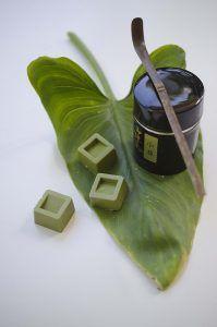 Cioccolatini al tè verde matcha