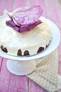 Torta al radicchio e cioccolato bianco