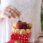 Charlotte gelata alla frutta