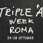 "Triple ""A"" Week Roma"