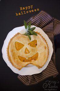 Torta rustica alla zucca di Halloween