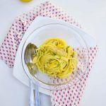 Spaghettoni sgombro e limone