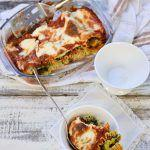 Baked Lasagna riccia, stracchino & spinach
