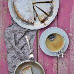 Crostata con lamponi e amaretti