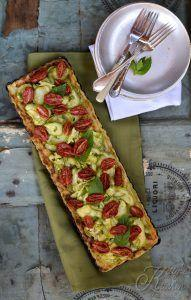 Crostata salata patate, zucchine e datterini
