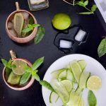 Mint Cucumber Moscow Mule