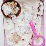 Biscotti in padella con crusca d'avena e uvetta
