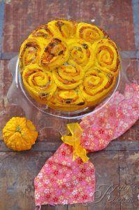 Torta di rose con zucca e gorgonzola