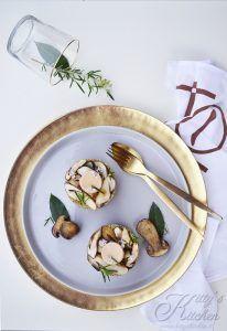 Polenta taragna, funghi porcini e foie gras