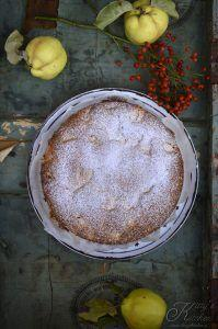 Torta di mele cotogne e rosmarino