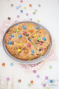 Cookie gigante alle M&M's