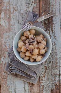 Gnocchetti radicchio, gorgonzola e noci