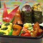 Bento box con insalata di quinoa